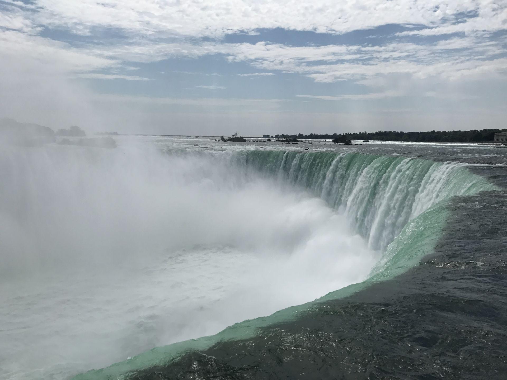 niagarske vodopady v kanade