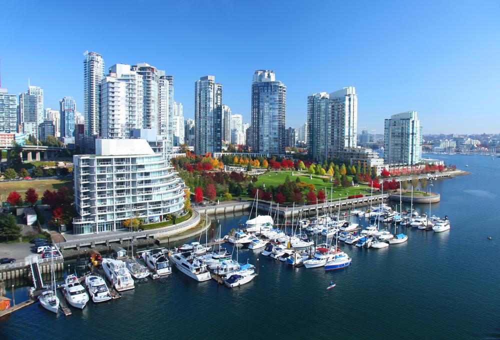 Park a přístav ve Vancouveru